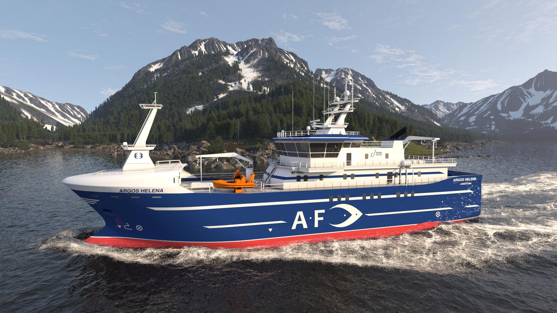 fishing boat Argos Helena Norway Fjords